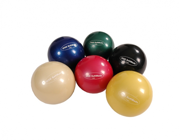 Medicine ball Mambo SoftMed MSD 1KG yellow - zdjęcie nr: 1