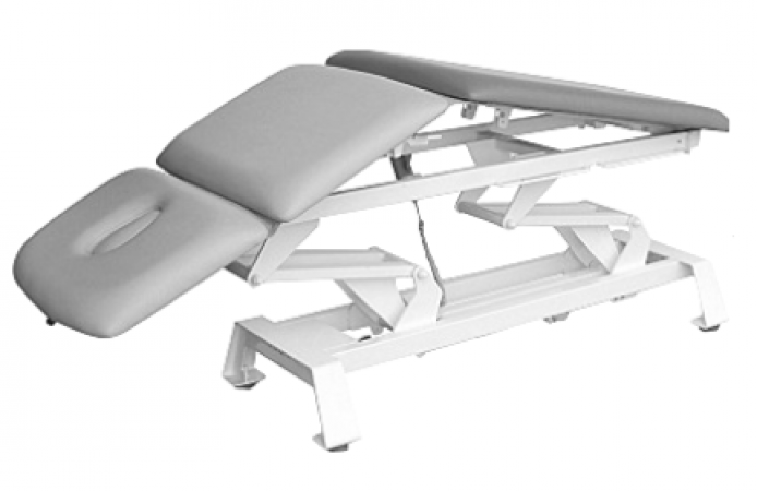 3-section therapy couch to manual therapy, Electrical height adjustment, top position  - zdjęcie nr: 1